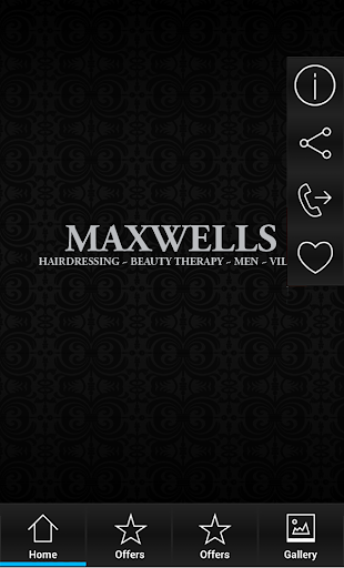 Maxwells Appointment App