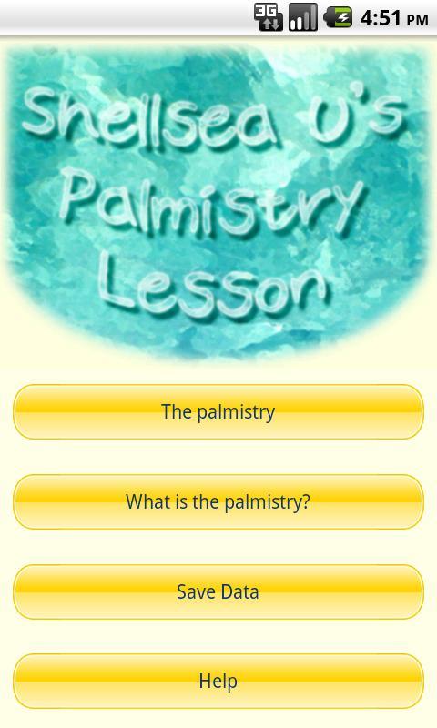 Shellsea U's Palmistry Lesson- screenshot