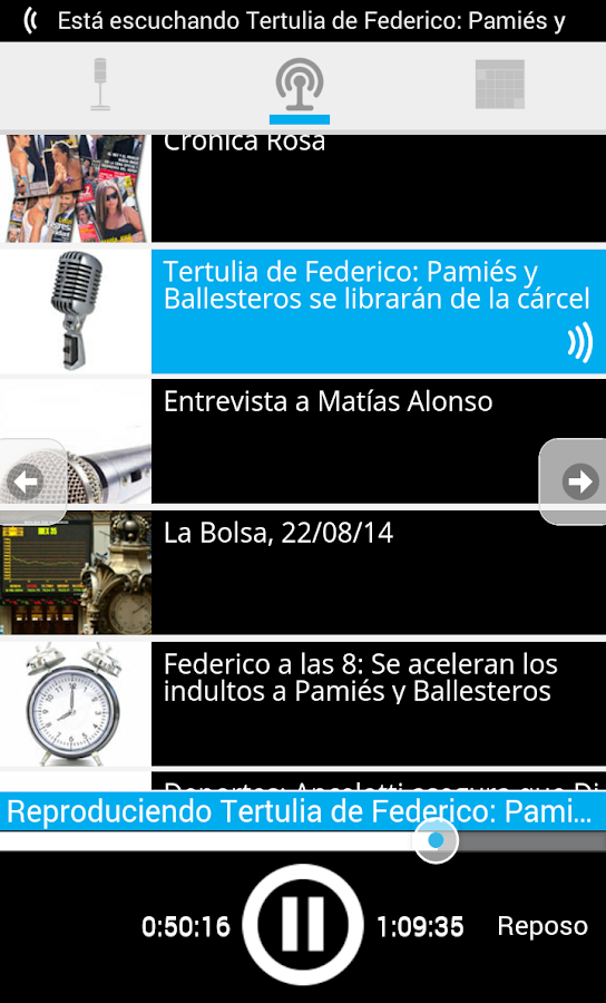 esRadio- screenshot