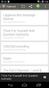 Audiour for Chromecast (Beta) - screenshot thumbnail