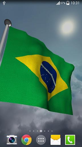 Brazil Flag - LWP