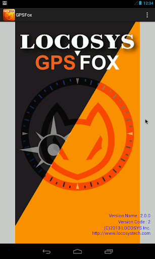 LOCOSYS GPSFox App