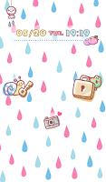 Screenshot of Cute wallpaper★Cute raindrop