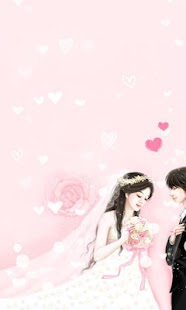 CUKI Theme wedding wallpaper