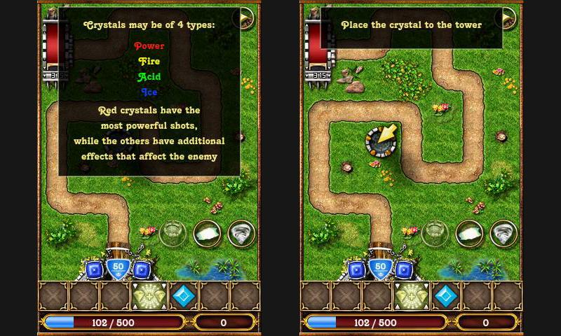 Crystallight Defense- screenshot