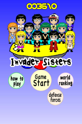 Invader Sisters