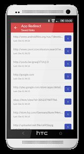App Redirect - náhled