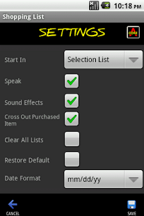 Shopping List Maker - screenshot thumbnail