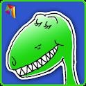 Silly Dinosaur Riddles logo