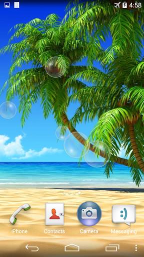 여름 해변 라이브 배경