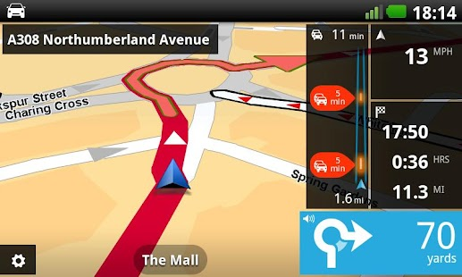 TomTom U.K. & Ireland - screenshot thumbnail