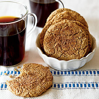 Almond Butter Snickerdoodles