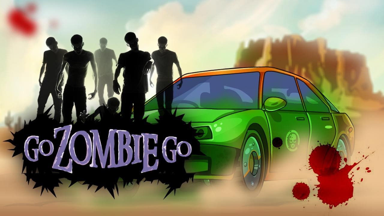 Go Zombie Go - Racing Games- screenshot