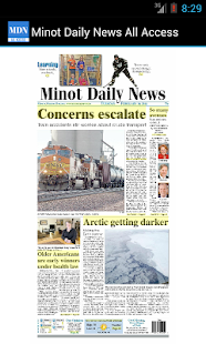 Minot Daily News All Access- screenshot thumbnail