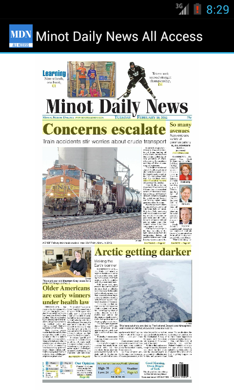 Minot Daily News All Access- screenshot
