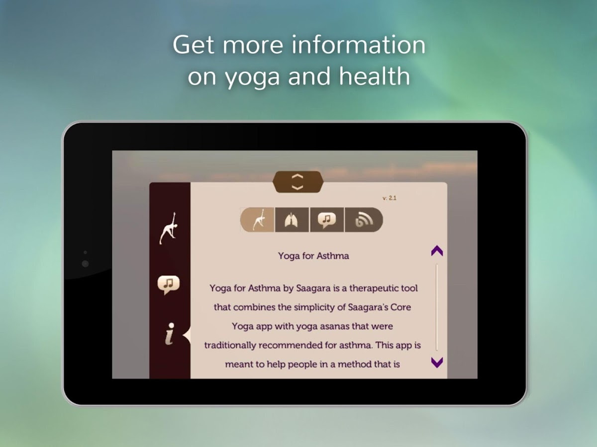 Yoga for Asthma- screenshot