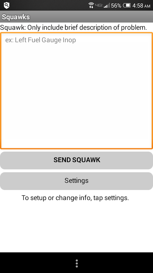Squawks- screenshot