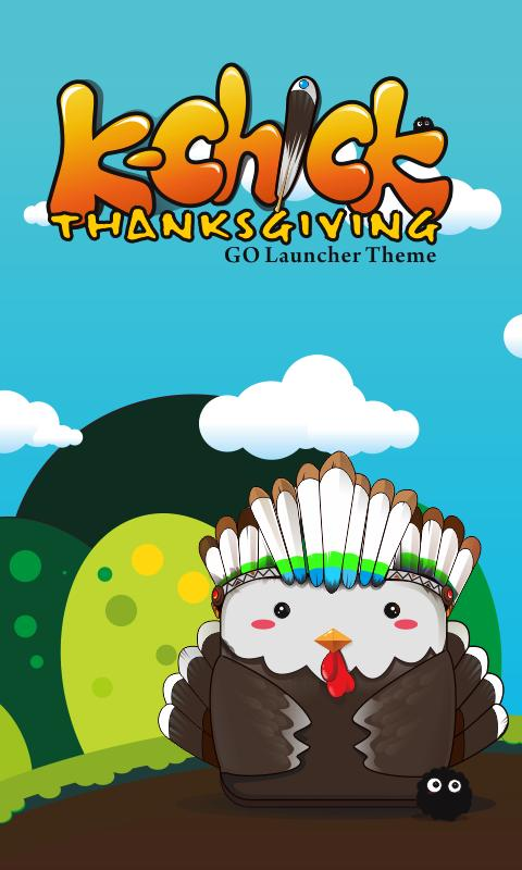 K-Thanksgiving GO Getjar Theme - screenshot