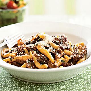 Makaruni Pasta with Morel Mushroom Sauce