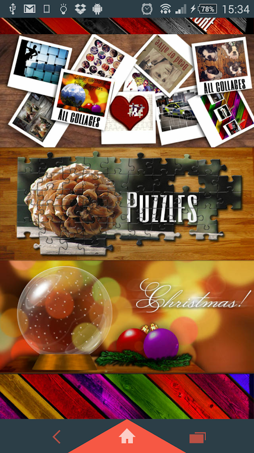 Collage Collection Christmas- screenshot