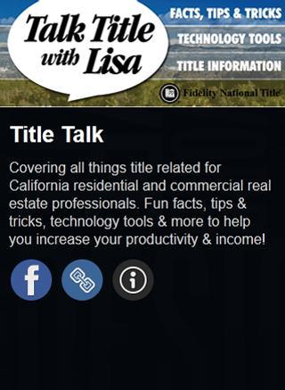 Title Talk