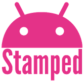 Stamped Pink Icons