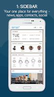 Screenshot of Terrain Home: Sidebar & Search