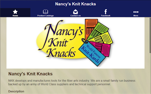 Nancy's Knit Knacks- screenshot thumbnail
