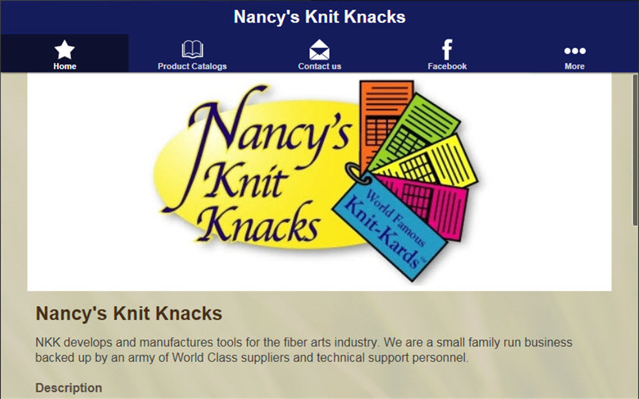Nancy's Knit Knacks- screenshot