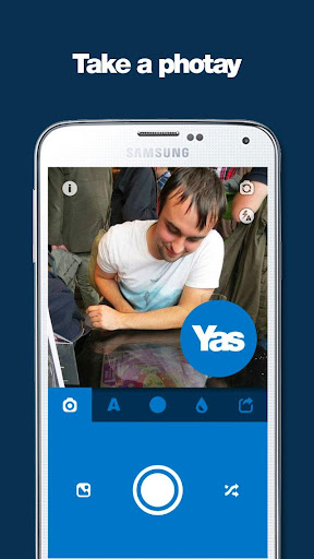 Yas - your custom IndyRef pic