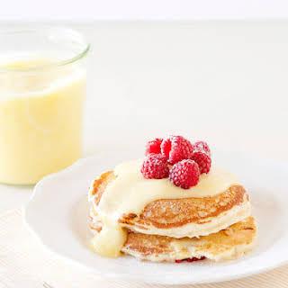 Lemon Raspberry Pancakes.