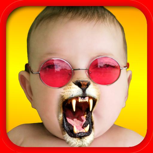 楽しみに直面 - 写真のコラージュメーカーに 休閒 App LOGO-硬是要APP
