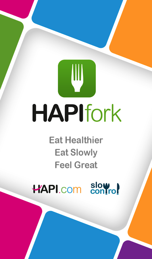 HAPIfork- screenshot