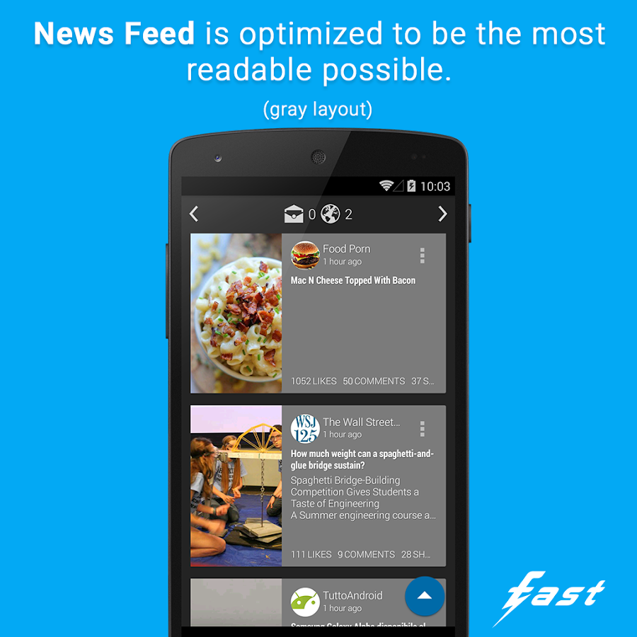 Fast - screenshot
