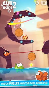 Cut the Rope 2: miniatura de captura de pantalla