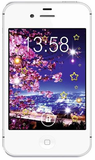 Sakura Magic live wallpaper