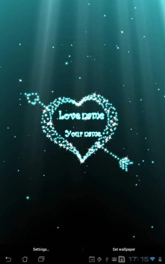 Love Live Iphone 4 Wallpaper : Hearts Day live wallpaper - Android Apps on Google Play