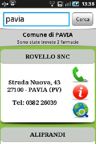 SOS Farmacia - screenshot