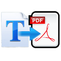 Text to PDF Converter-Offline icon