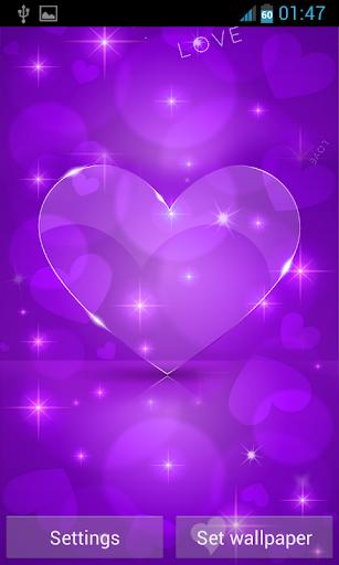 Download Love Hearts Live Wallpaper apk screenshot 3