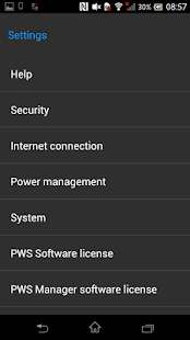 PWS Manager - screenshot thumbnail
