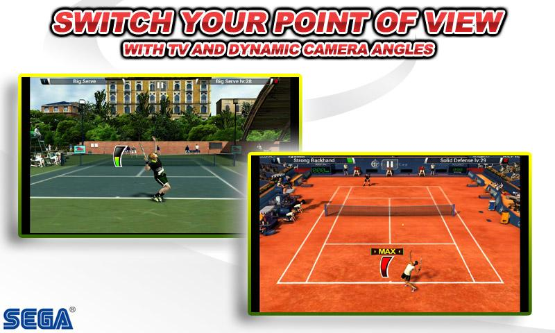 Virtua Tennis™ Challenge screenshot #7