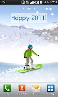 Snowboarder LiveWallpaper- screenshot thumbnail