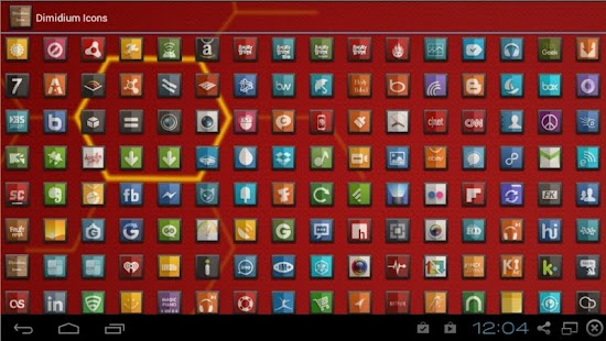 DIMIDIUM ICONS FREE APEX NOVA- screenshot thumbnail
