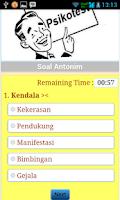 Screenshot of Tes Potensi Akademik