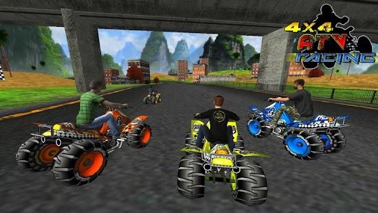 4X4 ATV Racing (3D Quad Race) 賽車遊戲 App-愛順發玩APP