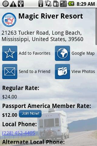 Passport America - screenshot