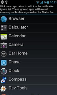 Jelly Bean StatusBar Pro- screenshot thumbnail