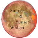 Sunrise & sunset widget icon