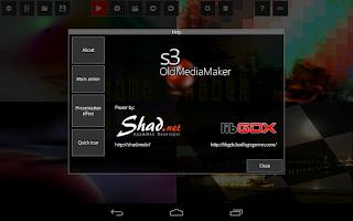 Screenshot of s3 Old Media Maker